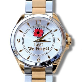 The Royal Canadian Legion Lest We Forget Watch - Mens English