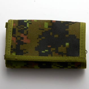 CADPAT Zippered Trifold Wallet