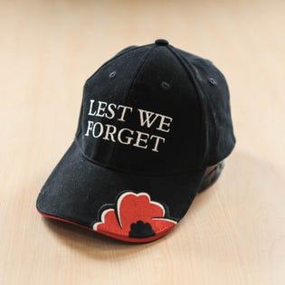 Casquette de balle «Nous nous souviendrons»