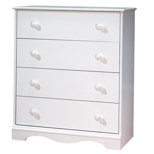 South Shore Angel 4-Drawer Chest White 3680034 (EA1)