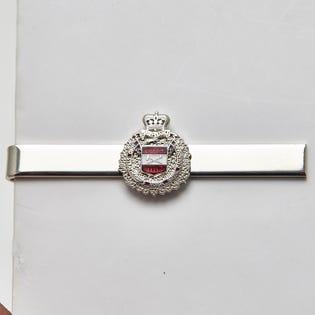 Pince à cravate argentée du LdSH(RC)