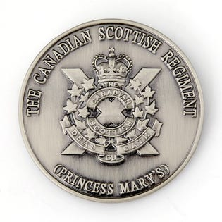 The Canadian Scottish Regt. Coin