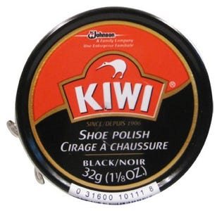 Kiwi Shoe Polish - Black 32g