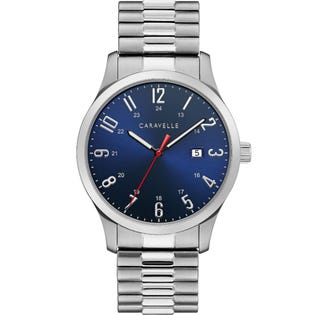 Caravelle Men's Traditional Watch Stainless Steel 43B161 (EA1)