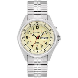 Caravelle Traditional Watch Stainless Steel (EA1)
