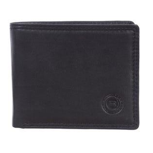 Portefeuille mince pour hommes ClubRochelier, cuir 4452-4-BLK (EA1)