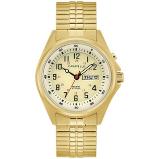 Caravelle Traditional Watch Gold (EA1)