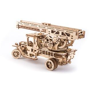Ugears Camion de pompier Puzzle 3d en bois  UGR70022 (EA1)