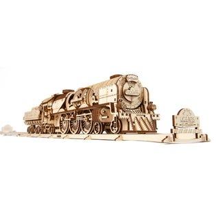 Ugears Locomotive V-Express Puzzle 3D en bois UGR70058  (EA1)