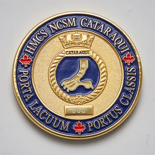 HMCS Cataraqui Numbered Coin