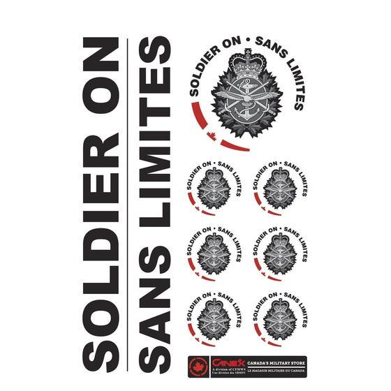 Soldier On Sticker Sheet