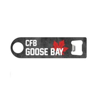 Ouvre-bouteille de la CFB Goose Bay