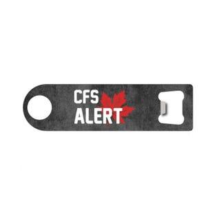 Ouvre-bouteille de la CFS Alert