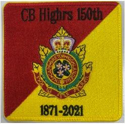 CB Highrs 150th Anniversary Badge