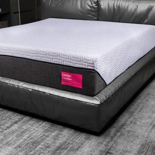 "Comfort Canada Matelas Comfort en mousse gel moyen 12"" CC-UL78MRP (EA3)"