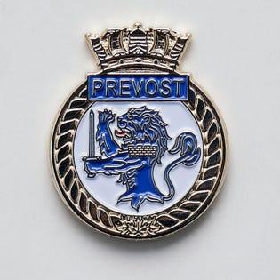 HMCS Prevost Lapel Pin
