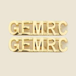 GEMRC - Insignes d'épaule