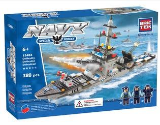 Bric Tek Navy Frigate