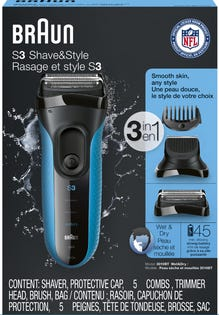 BRAUN - Shaver -   Shave & Style (3010 S3)