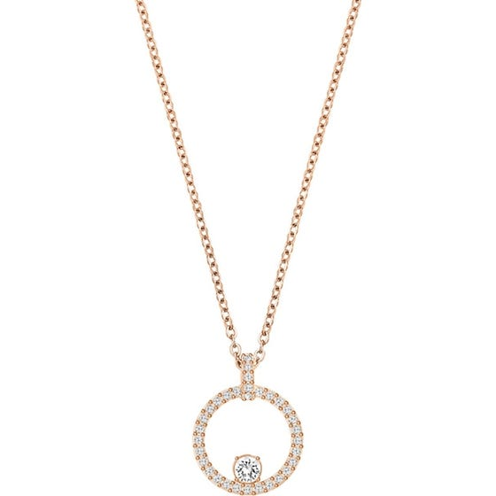 Swarovski Creativity Rose Gold-Plated Necklace