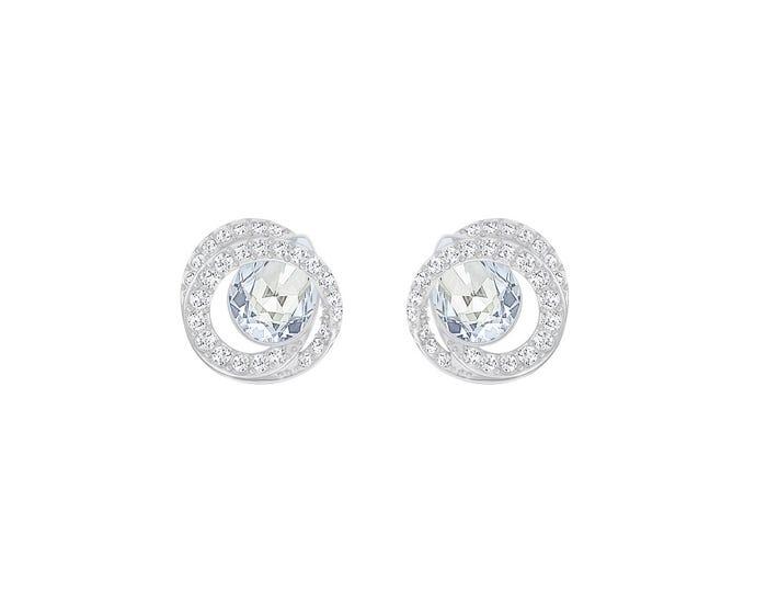 Swarovski Generation Rhodium Earrings