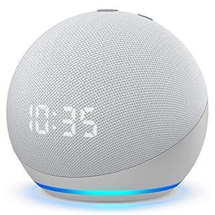 Amazon Dot Clock 4th Gen White 53-023503