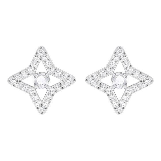 Swarovski Sparkling Dance Flower Earrings