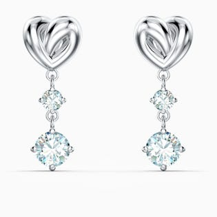 Swarovski Lifelong Heart Earrings