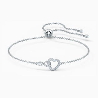 Bracelet Infinity Heart de Swarovski