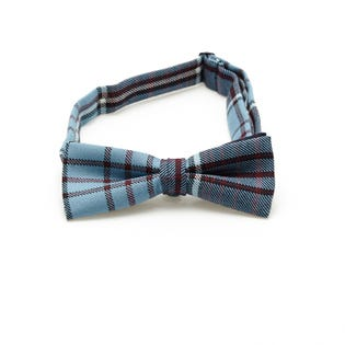 Bow Tie Formal Tartan Wool