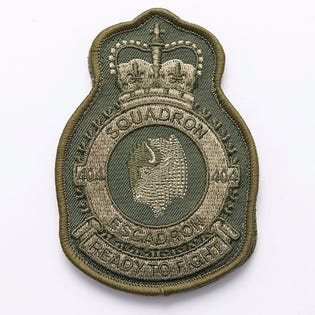 404 SQN Long Range Patrol Deployment Flight Patch