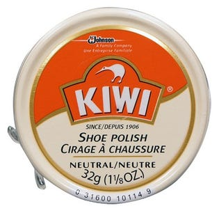 Kiwi Shoe Polish - Neutral 32g