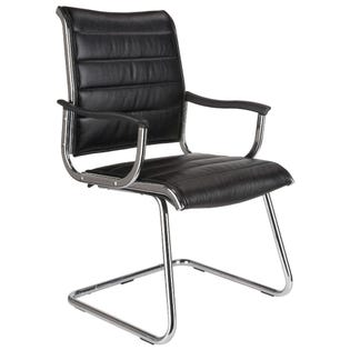 TygerClaw Mid Back Bonded Leather Office Chair TYFC2006 (EA1)