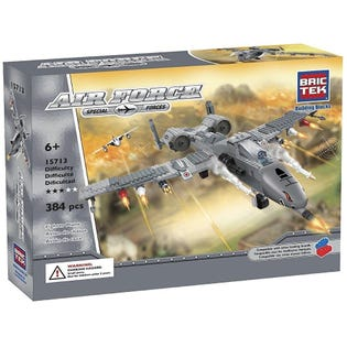 Bric Tek Air Force Fighter Plane 15713