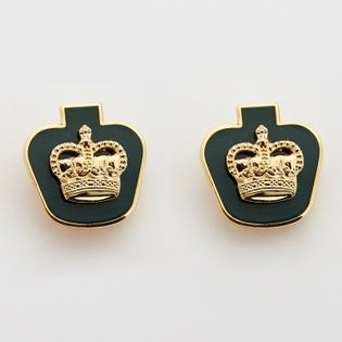 DEU Collar Rank Pins Warrant Officer  (Pair)