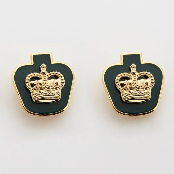 DEU Collar Rank Pins Warrant Officer  (Pair)