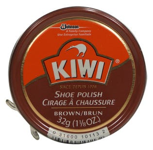 Kiwi Shoe Polish Brown 32g