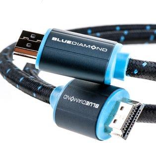 Blue Diamond 3ft HDMI 4K Cable