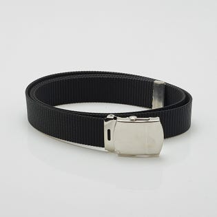BEN NYLON WEB BELT BLK NCK