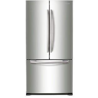 Samsung French Door Refrigerator RF18HFENBSR