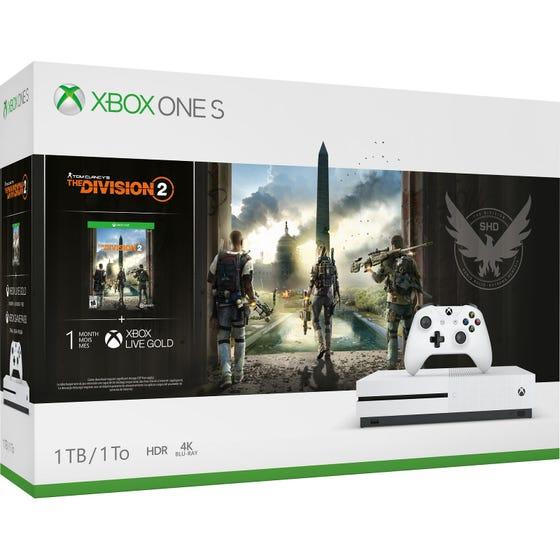 Xbox One S 1TB Division 2 Bundle