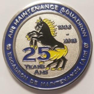 8 AMS Coin