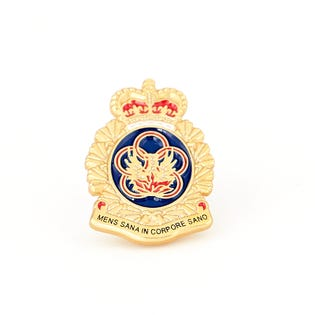 Physical Education & Recreation Branch (PE & R) Lapel Pin