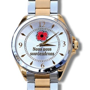 The Royal Canadian Legion Lest We Forget Watch - Mens French