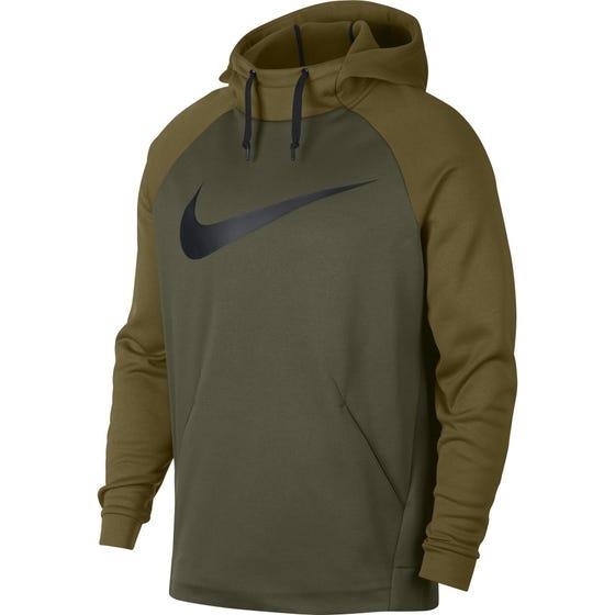 Nike Men's Therma Hoodie Green