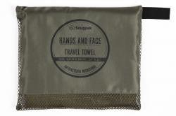 SNUGPAK Travel Towels Hands & Face 24in x 31in Olive