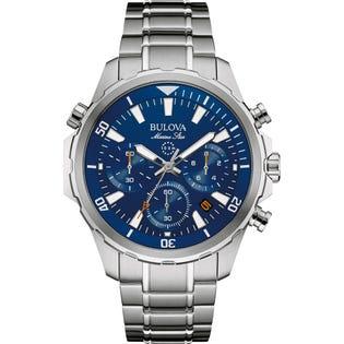 Bulova Marine Star Watch 96B256 (EA1)
