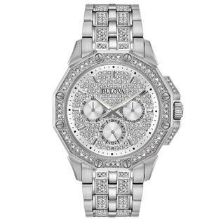 Bulova Crystal Watch Stainless Steel 96C134 (EA1)