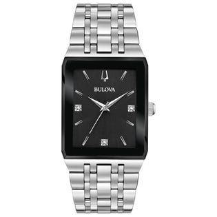 Bulova Crystal Quadra Watch (EA1)