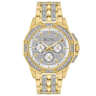 Bulova Crystal Watch Stainless Steel 98C126 (EA1)